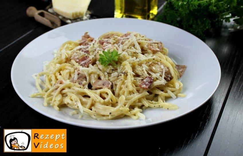Spaghetti Carbonara - Pasta Rezepte - Rezept Videos