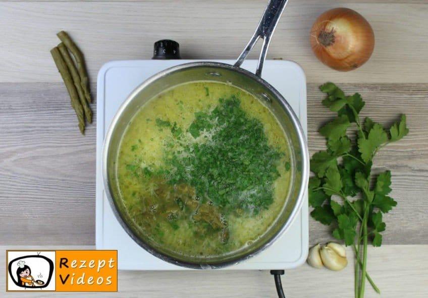 Spargelcremesuppe - Rezept Zubereitung Schritt 4