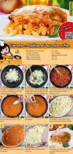 Tomaten-Makkaroni aus dem Ofen Rezept mit Video