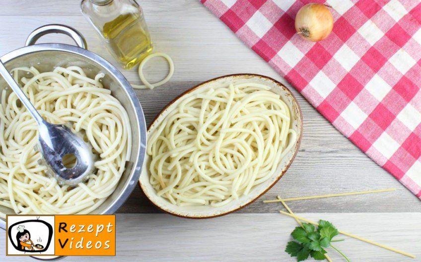 Tomaten-Makkaroni aus dem Ofen Rezept - Zubereitung Schritt 8