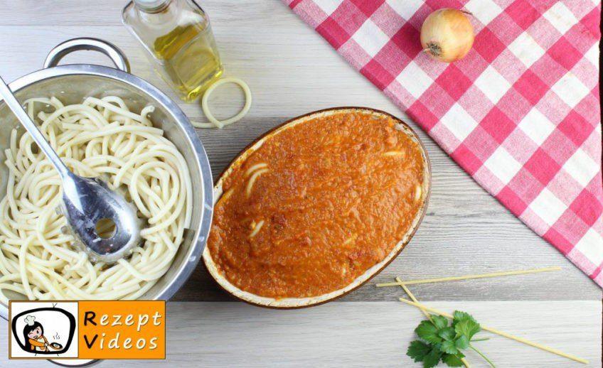 Tomaten-Makkaroni aus dem Ofen Rezept - Zubereitung Schritt 9