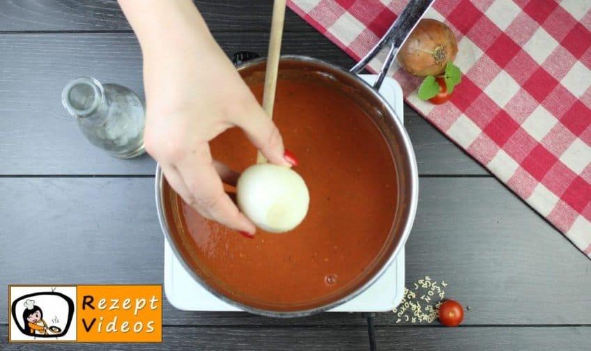 Tomatensuppe Rezept - Zubereitung Schritt 6