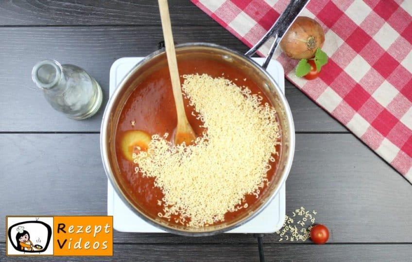 Tomatensuppe Rezept - Zubereitung Schritt 7