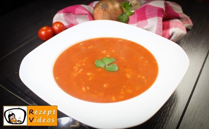 Tomatensuppe - Rezept Videos