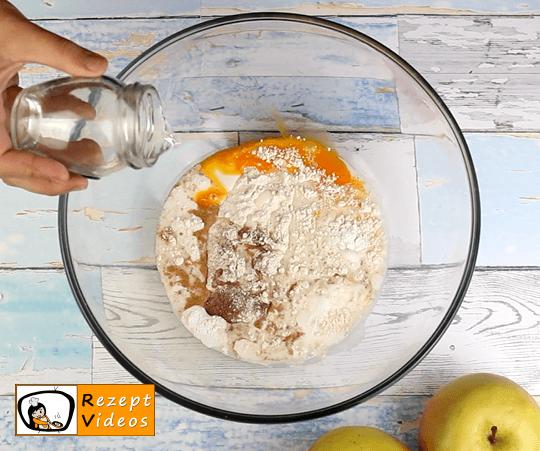 Apfelpfannkuchen Rezept - Zubereitung Schritt 1