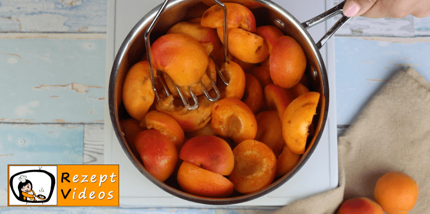 Aprikosenmarmelade Rezept - Zubereitung Schritt 2