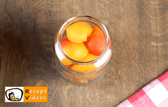 Eingemachte Aprikosen Rezept - Zubereitung Schritt 3