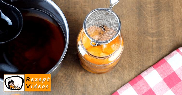 Eingemachte Aprikosen Rezept - Zubereitung Schritt 4