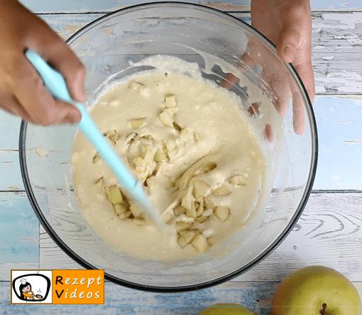 Apfelpfannkuchen Rezept - Zubereitung Schritt 4