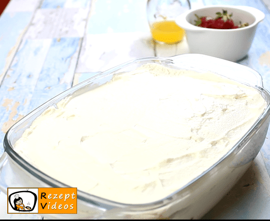 Erdbeer-Tiramisu Rezept - Zubereitung Schritt 7