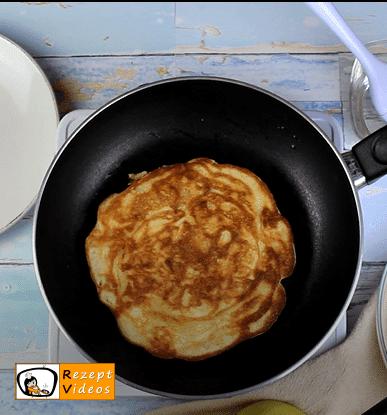 Apfelpfannkuchen Rezept - Zubereitung Schritt 7