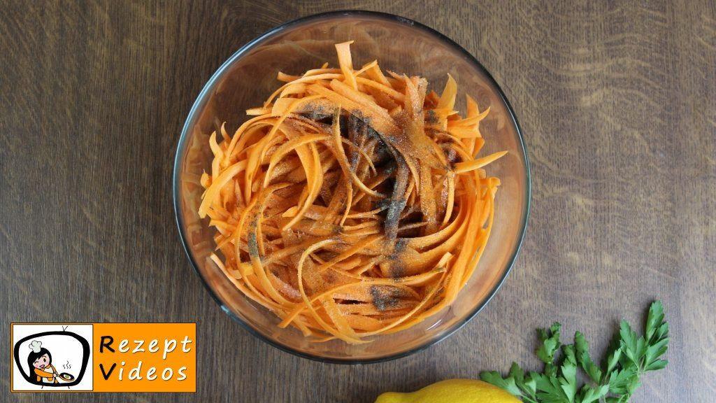 Karottensalat Rezept - Zubereitung Schritt 2