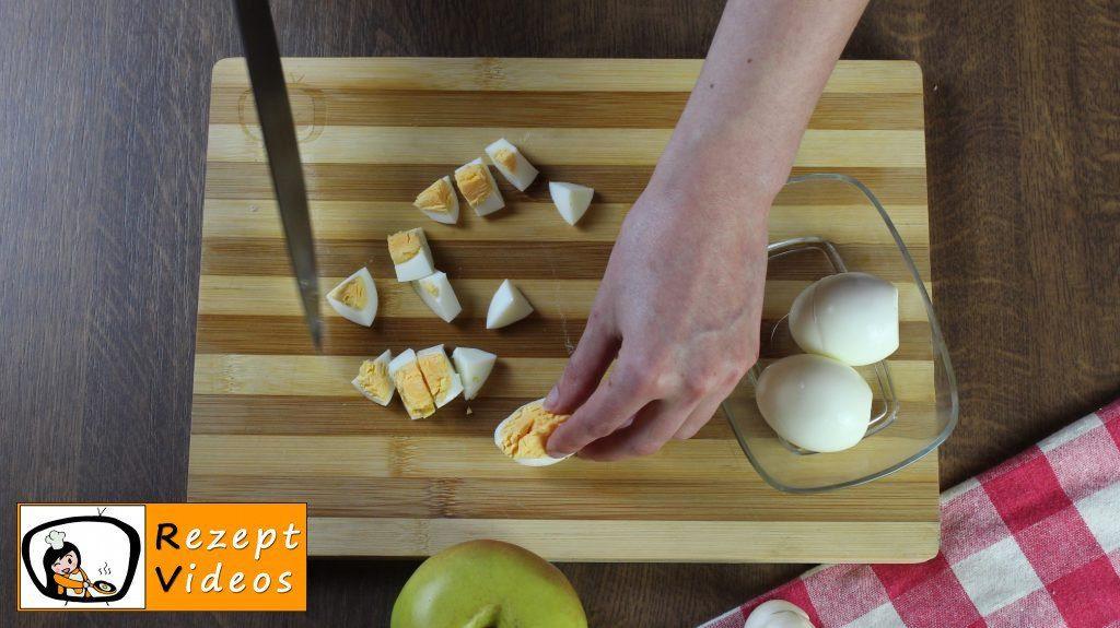 Schichtsalat Rezept - Zubereitung Schritt 1