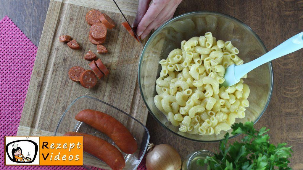 Nudelsalat Rezept - Zubereitung Schritt 1