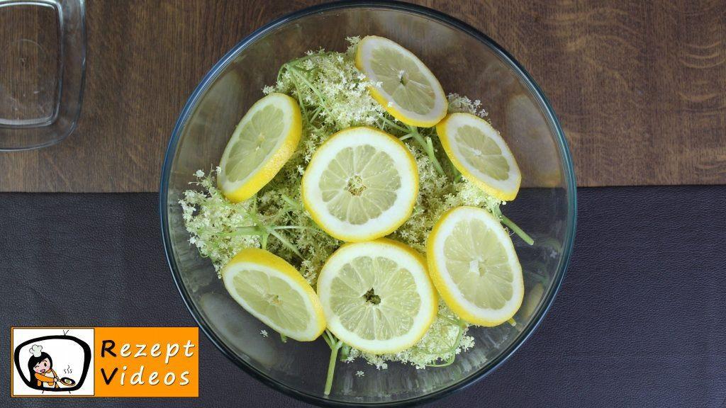 Holunderblütensirup Rezept - Zubereitung Schritt 1