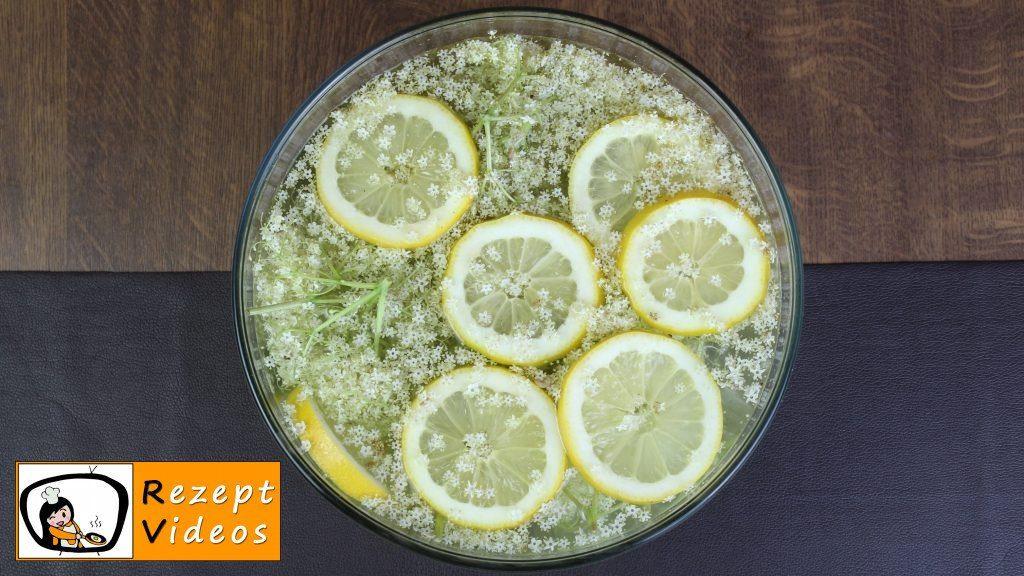 Holunderblütensirup Rezept - Zubereitung Schritt 2