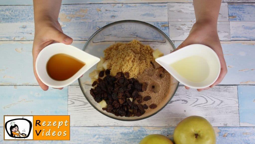 Apfelstrudel Rezept - Zubereitung Schritt 4