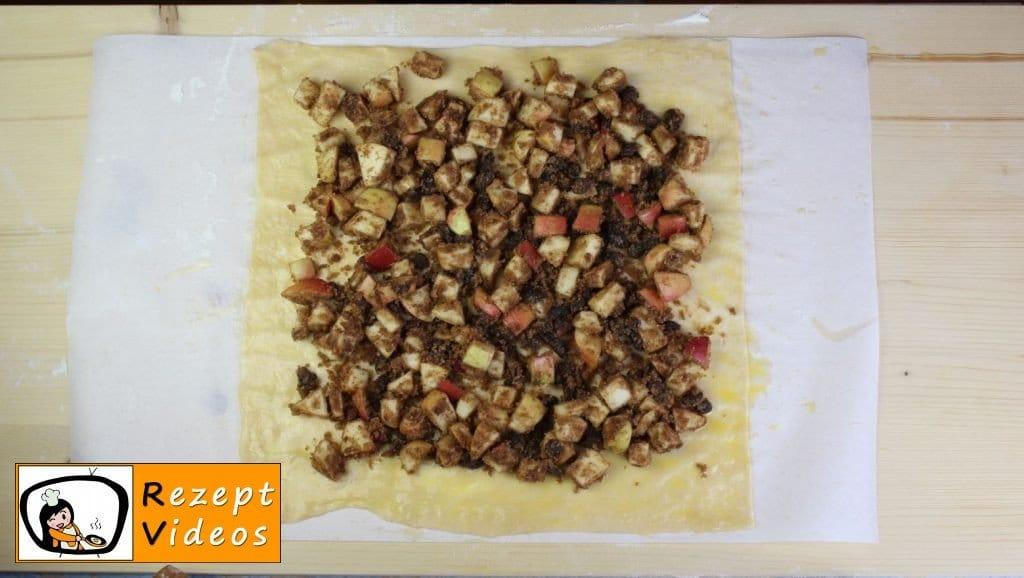 Apfelstrudel Rezept - Zubereitung Schritt 7