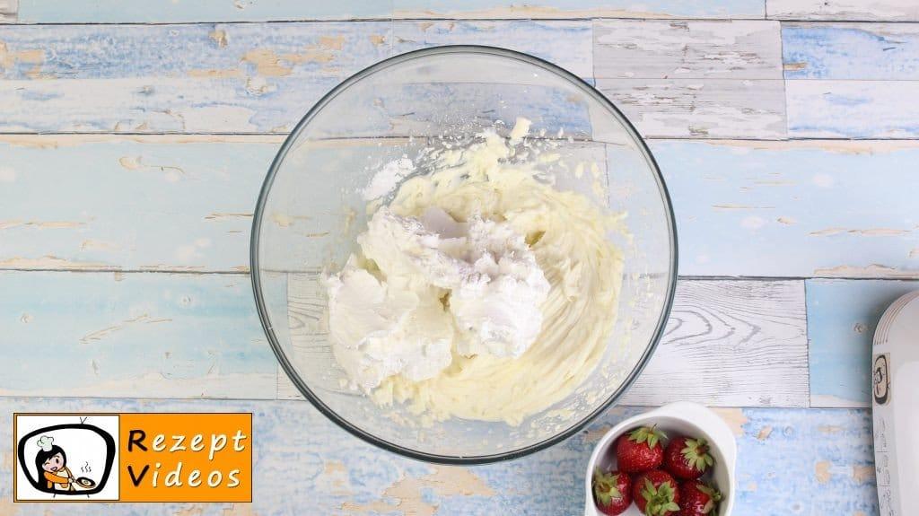 Erdbeer-Tiramisu Rezept - Zubereitung Schritt 2