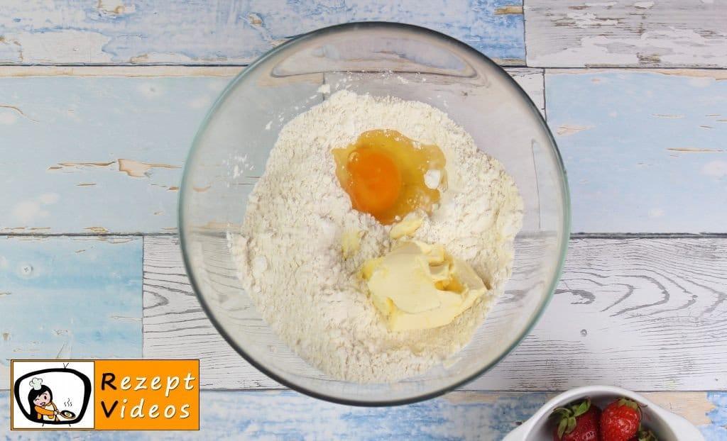 Käsekuchen Rezept - Zubereitung Schritt 1