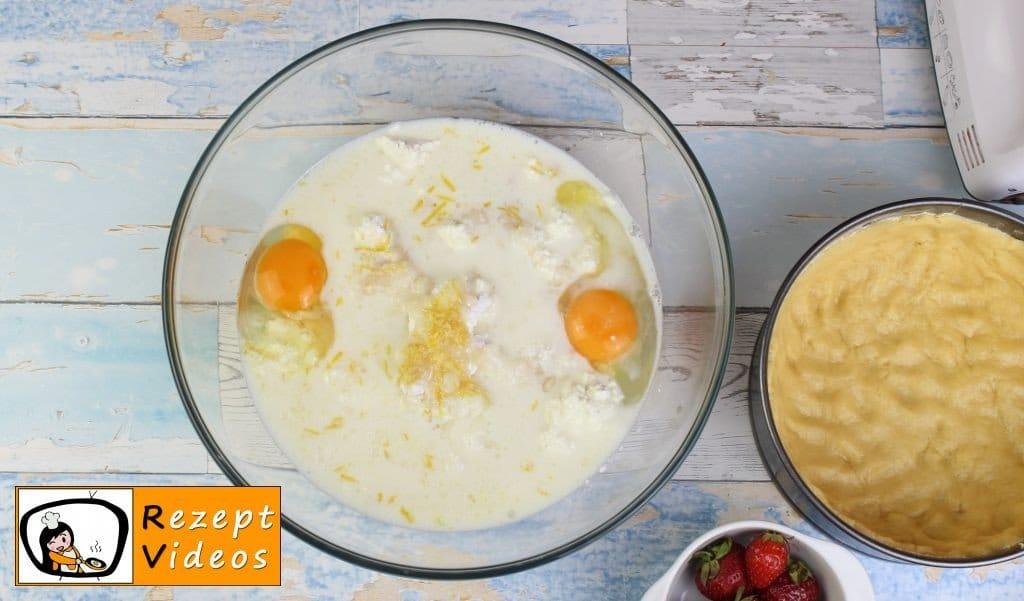Käsekuchen Rezept - Zubereitung Schritt 2