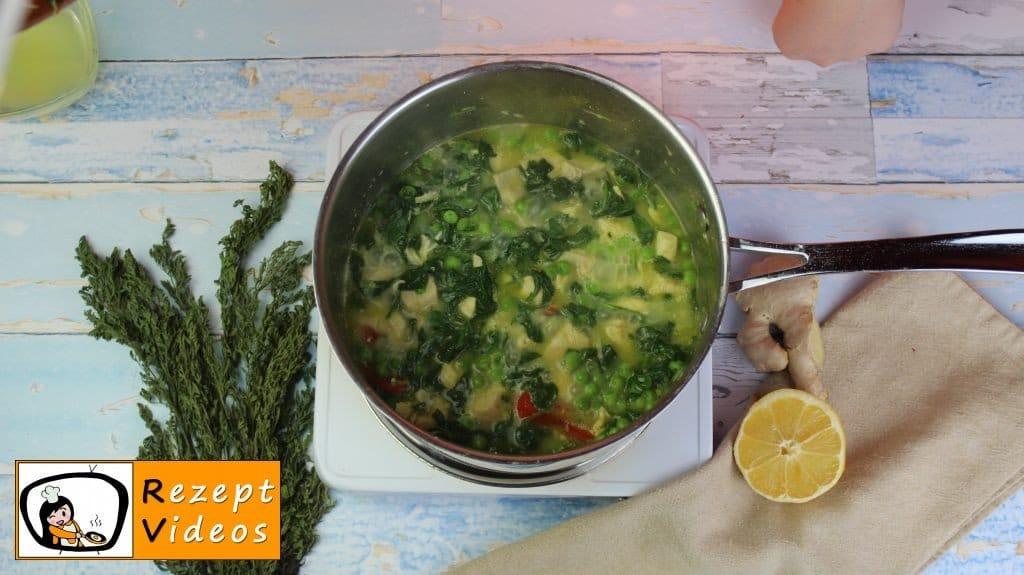 Hähnchencurry mit falschem Reis Rezept - Low Carb Rezept - Zubereitung Schritt 5