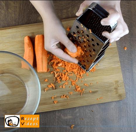 Süßer Karottensalat Rezept - Zubereitung Schritt 1