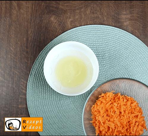 Süßer Karottensalat Rezept - Zubereitung Schritt 2