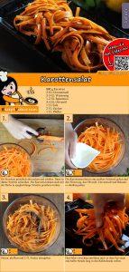 Karottensalat Rezept mit Video
