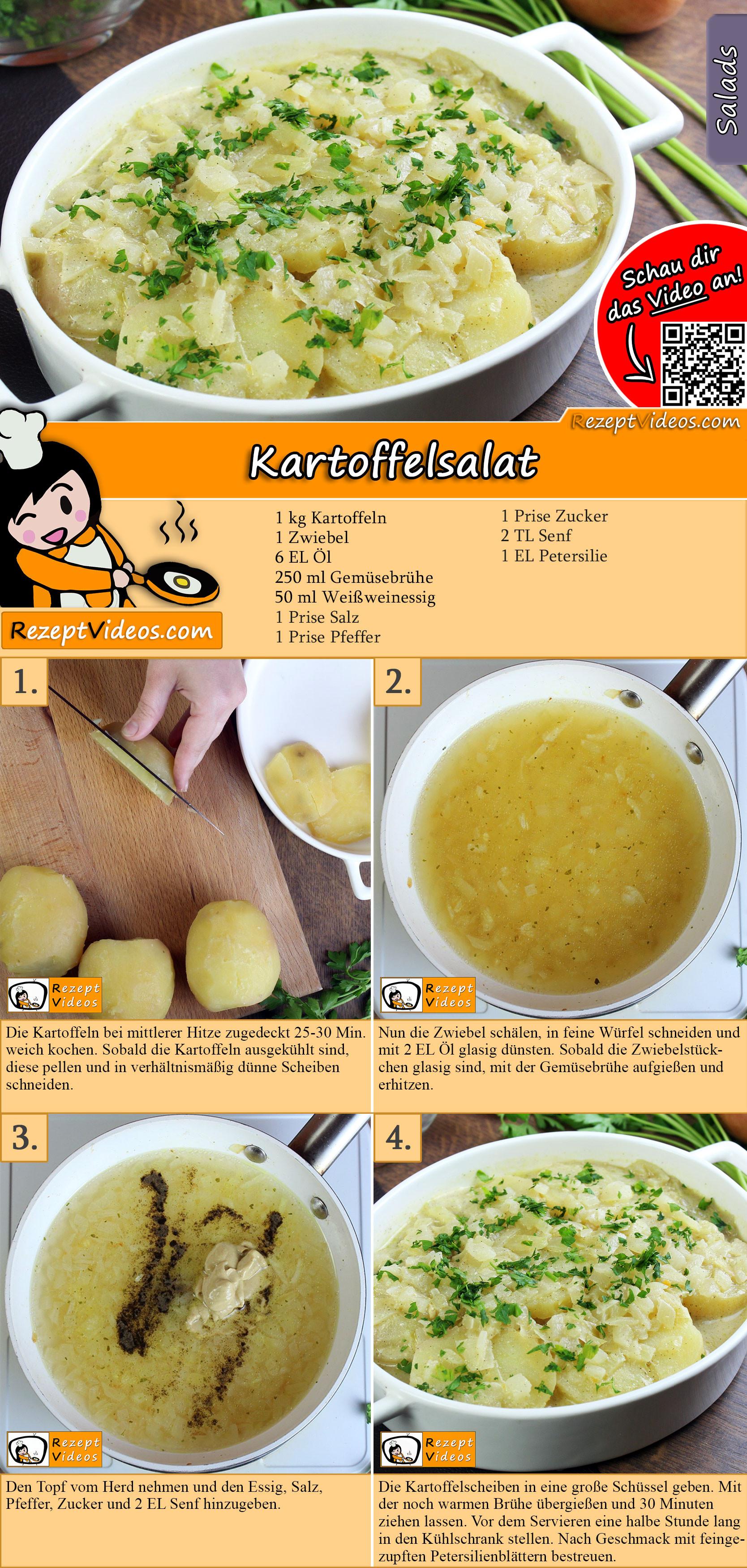 Kartoffelsalat Rezept mit Video