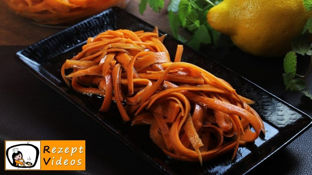 Karottensalat - Rezept Videos