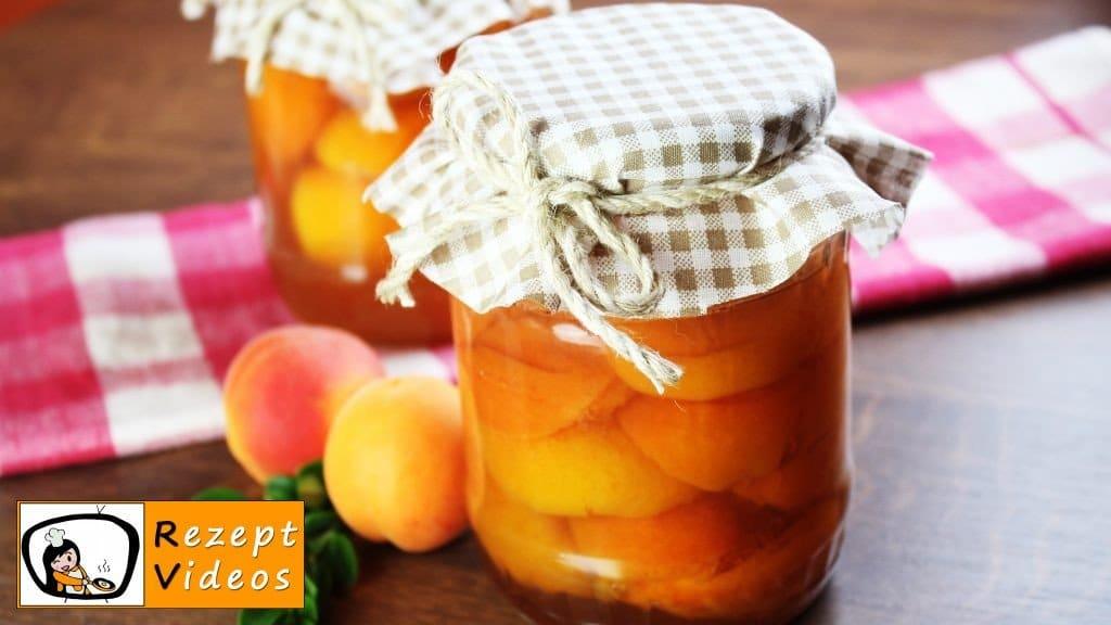 Eingemachte Aprikosen - Rezept Videos