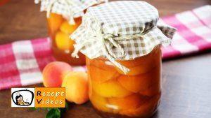 Eingemachte Aprikosen