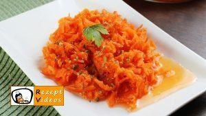 Süßer Karottensalat