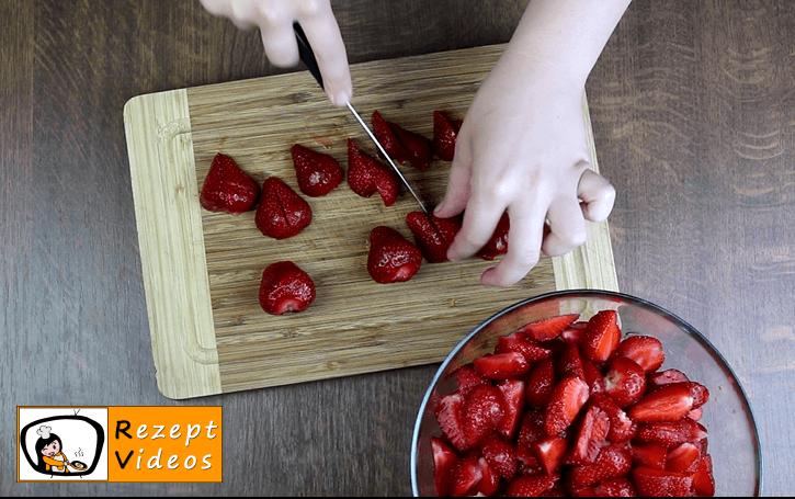 Erdbeermarmelade Rezept - Zubereitung Schritt 1