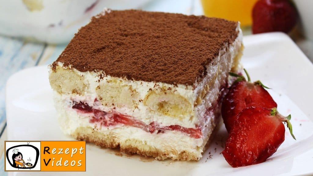 Erdbeer-Tiramisu - Rezept Videos