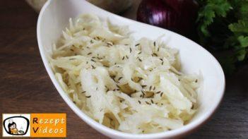 Erfrischender Krautsalat fürs Salatbüfett - schmackhafte Salat Rezepte