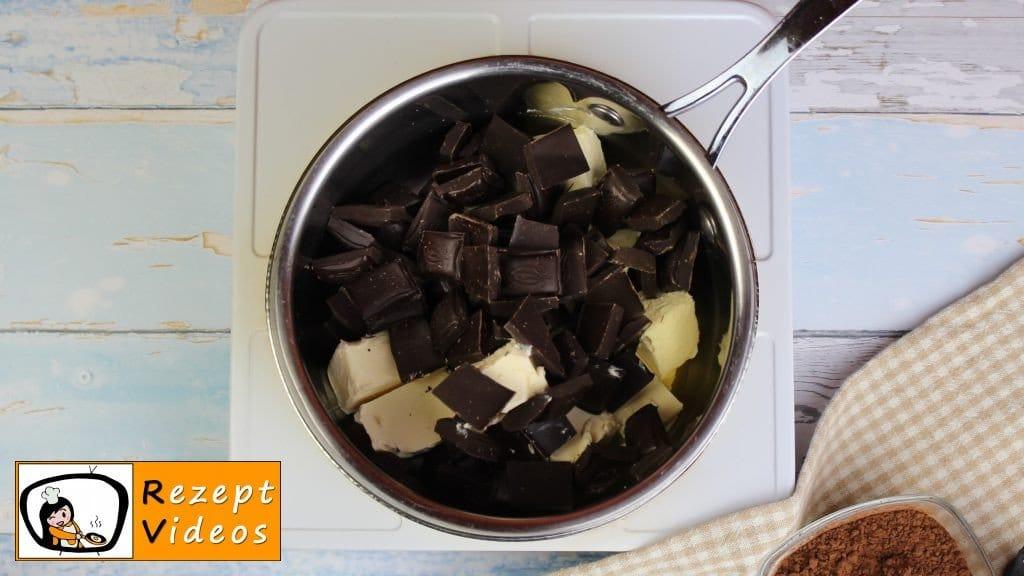 Brownies Rezept - Zubereitung Schritt 1