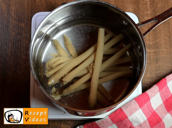 Spargelsalat Rezept - Zubereitung Schritt 1
