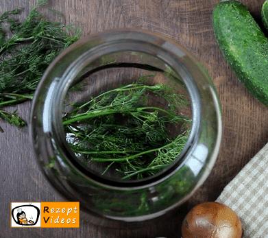 Salzgurken Rezept - Zubereitung Schritt 2
