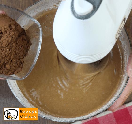 Schokoladenkuchen Rezept Zubereitung Schritt 3