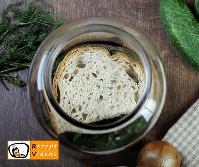 Salzgurken Rezept - Zubereitung Schritt 3