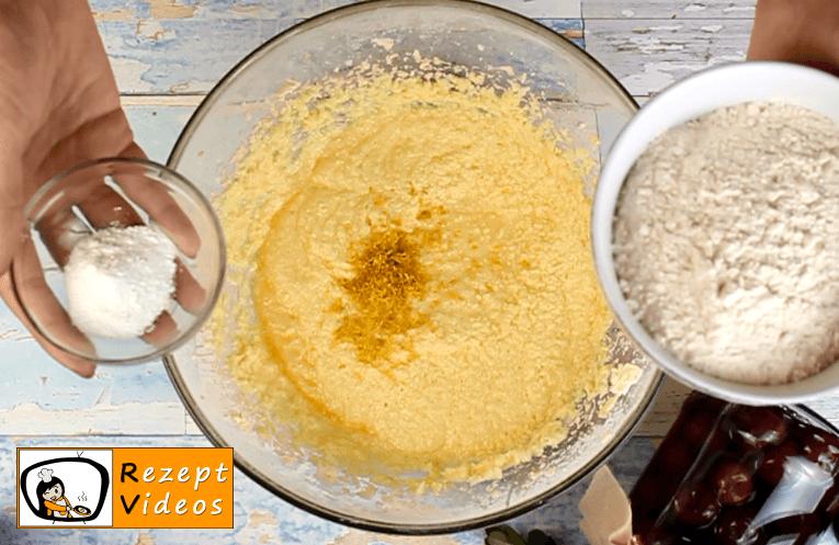 Kirschkuchen Rezept - Zubereitung Schritt 4