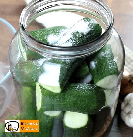 Salzgurken Rezept - Zubereitung Schritt 4