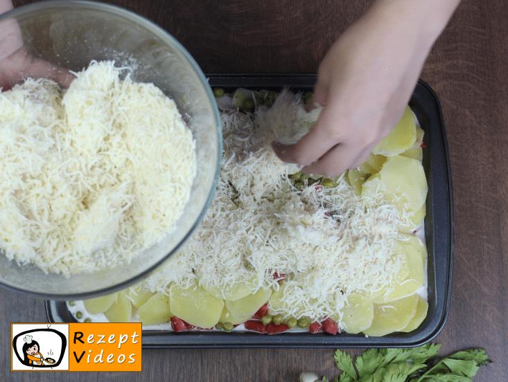 Kartoffelauflauf Rezept Zubereitung Schritt 5