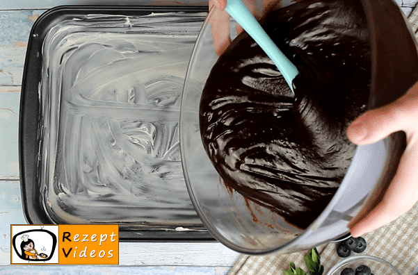 Brownies Rezept - Zubereitung Schritt 6