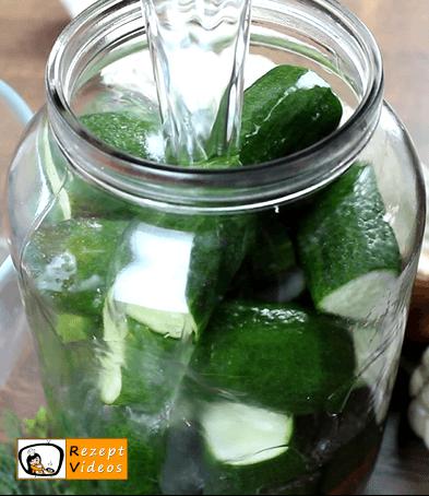 Salzgurken Rezept - Zubereitung Schritt 5