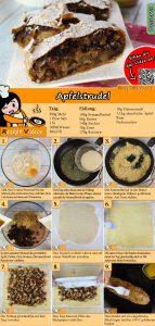 Apfelstrudel Rezept mit Video