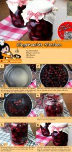 Eingemachte Kirschen Rezept mit Video