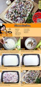 Flammkuchen Rezept mit Video